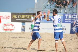 Con Lorrenc e Francois il Terracina beach soccer avanza