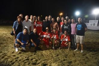 """La squadra del """"Centro Storico"""", 1a classificata alla settima edizione del Torneo dei Quartieri"""