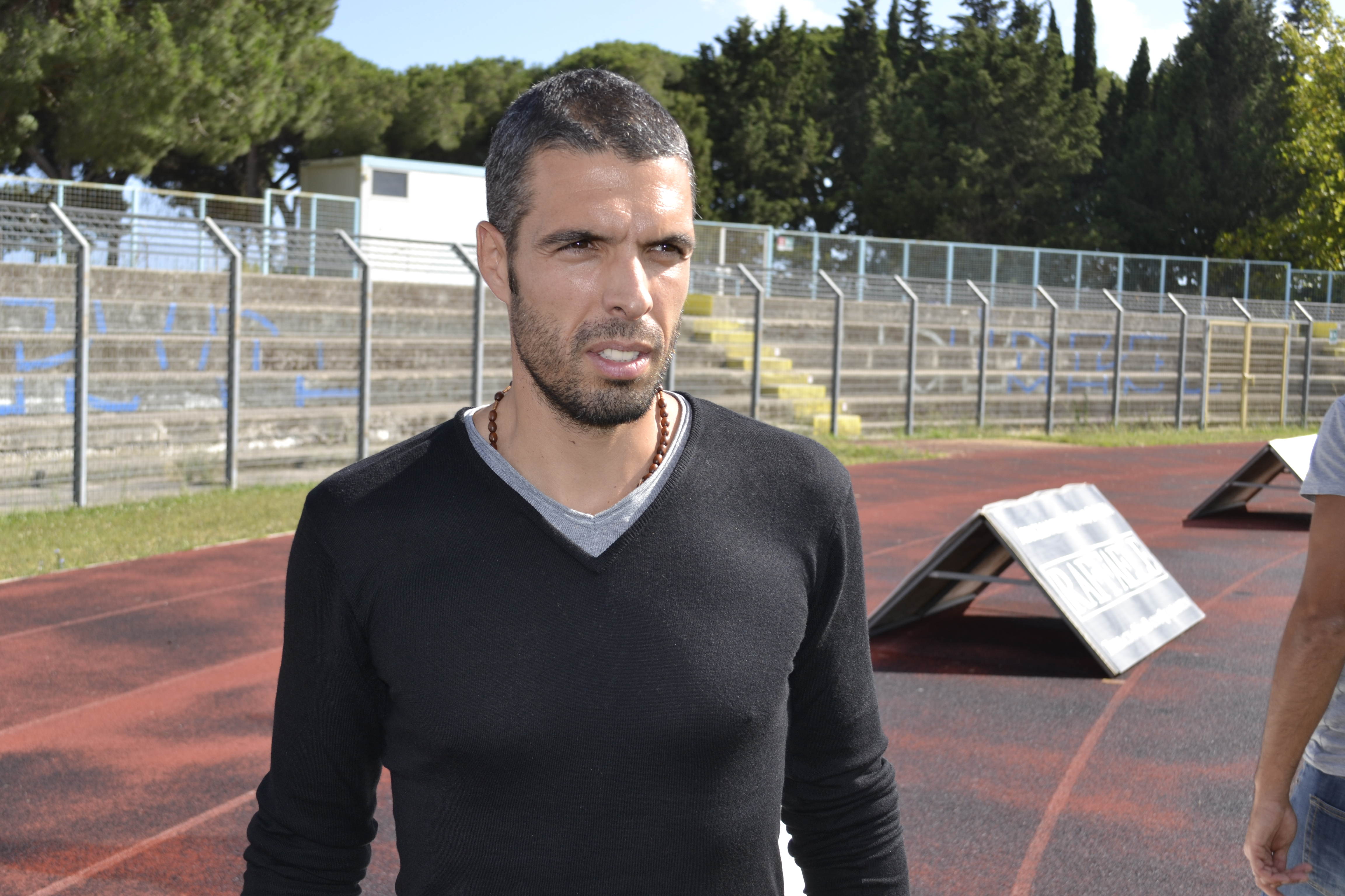 Fabio Celestini allenatore Terracina calcio. Anxur Time