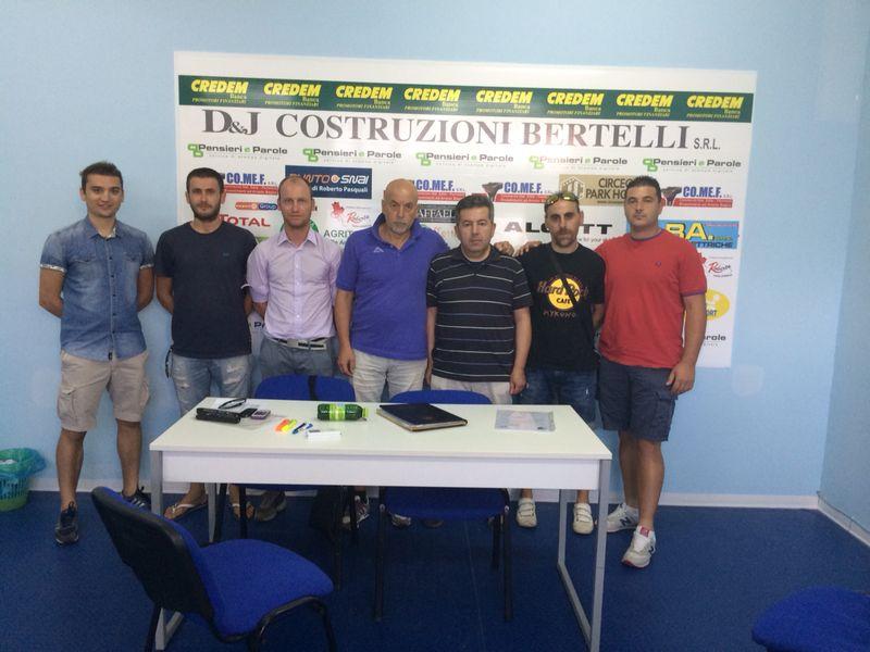 Lo staff del settore giovanile del Terracina calcio