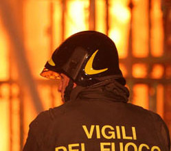 Il vigili del fuoco pronto intervento del 115