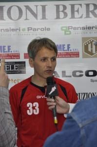 Massimo Agovino allenatore del Terracina. Anxur Time