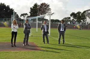 La dirigenza del Terracina 2013-2014. Anxur Time