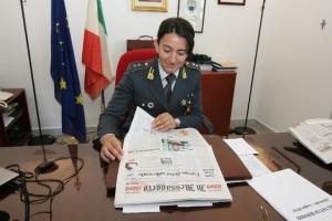 Fabiana Cretì, tenente della Gdf di Terracina