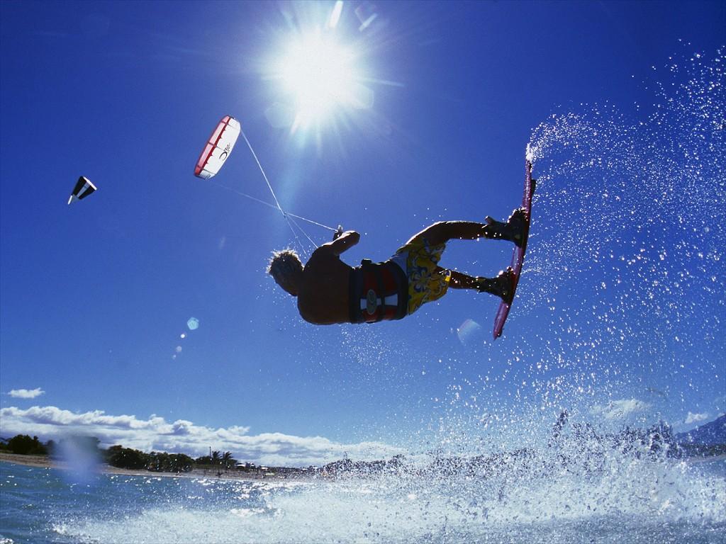 kite surf. Anxur Time