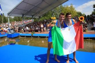 Matteo Lodo (il primo da sinistra): Anxur Time