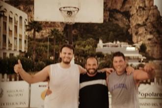 Sciscione, Chiumera e Teni vincono il 3 contro 3 di basket. Anxur Time
