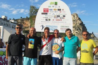 Beccaccioli-Chiodioni ai regionali di beach tennis a terracina. Anxur Time