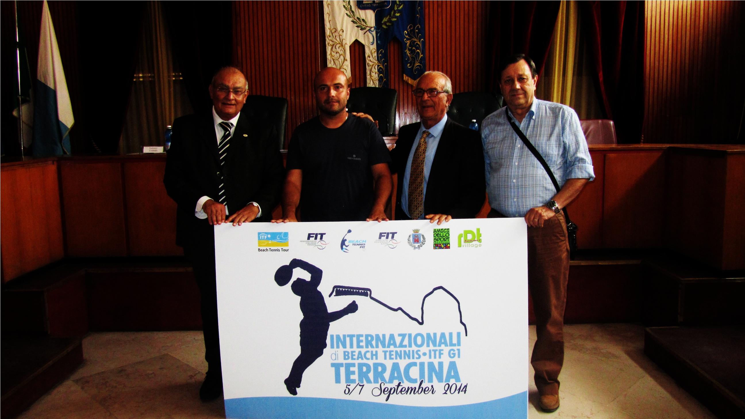 Gli Internazionali di Tennis a Terracina. Anxur Time