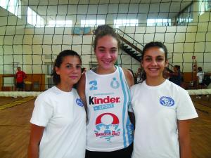 Emanuela Cittarelli, Silvia Bonsanti e Ludovica Chiappini. Anxur Time