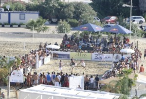 beach tennis panoramica