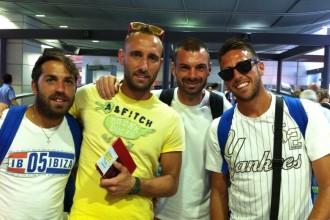 In Nazionale Paolo Palmacci, Stefano Spada, Francesco Corosiniti, Alessio Frainetti. Anxur Time