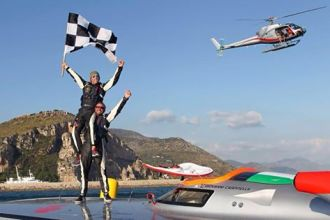 fendi racing, mondiale offshore terracina. Anxur Time
