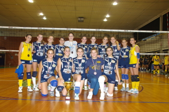 Pallavolo Futura Terracina '92. Under 16 Anxur Time