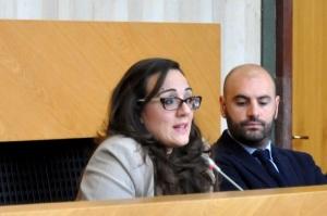 A sinistra Della Penna, a destra il consigliere comunale di Terracina, Di Tommaso.