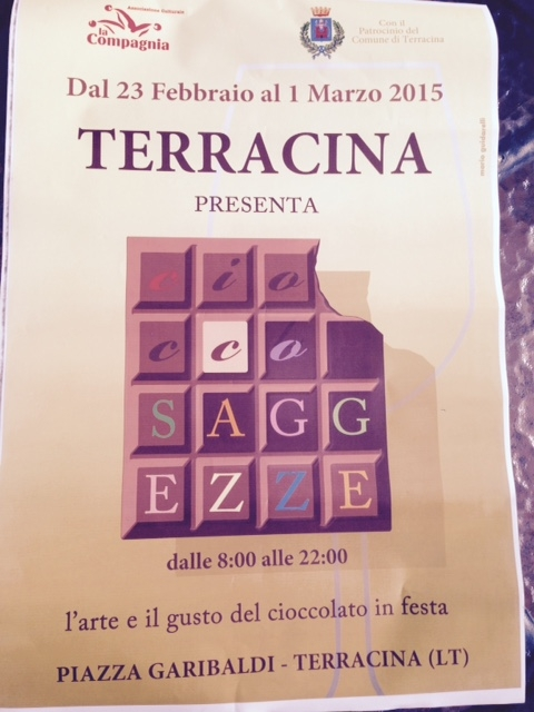 cioccosaggezze terracina