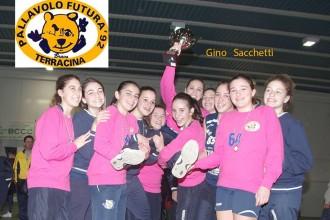Pallavolo Futura Terracina '92, Under 14, Campione provinciale. Anxur Time