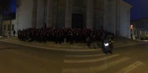 flash mob terracina. anxur time