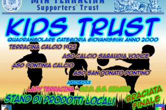 kids trust, la locandina dell'evento. Anxur Time