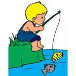 a pesca con papà. anxur time