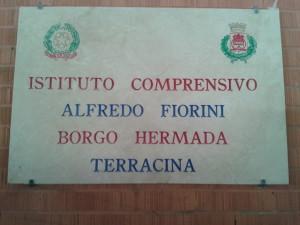 L'IC di Borgo Hermada intitolato ad Alfredo Fiorini. Anxur Time