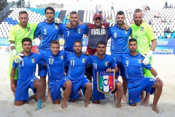 Italia Beach soccer in finale ai Giochi Europei di Baku. Anxur Time