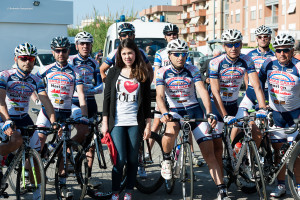 Marialessandra con la squadra TBT