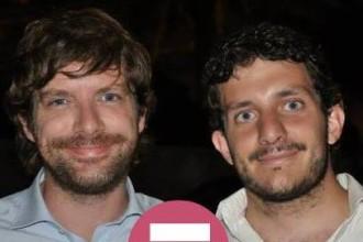 Da sinistra: Pippo Civati e Andrea Percoco