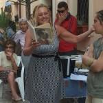 Catia Mosa alla mostra su Pier Paolo Pasolini. Anxur Time