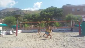 Le ragazze in azione