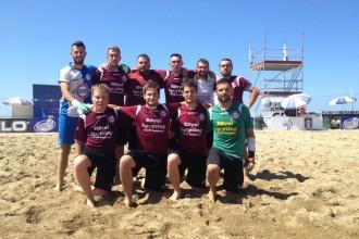 Le Fischiere alle finali di Serie B di beach soccer. Anxur Time