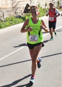 Silvia Subiaco(Podistica Terracina) vince a Pontinia. Anxur Time