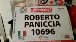 Pettorale Roberto Paniccia
