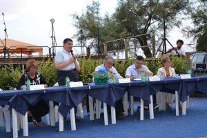 Il Presidente di Rete Solidale Stefano Soscia. Anxur Time
