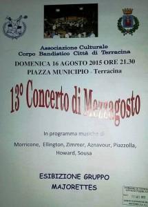 Banda Musicale Terracina. Concerto Mezzagosto. Anxur Time