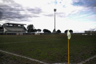 Lo stadio Mario Colavolpe. Anxur Time