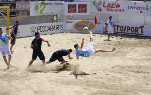 Giovanni Savarese in Nazionale di Beach Soccer. Anxur Time