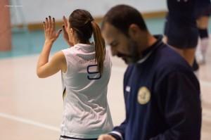 Pallavolo Futura Terracina '92. federica Stefanelli e coach Leonardi. Anxur Time