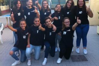 I.C.Milani Campione d'Italia pallavolo femminile. Anxur Time