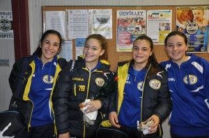 Alessandra Minutilli, Samantha Dalia, Penelope Parisella ed Elena De Petris al CQP. ANXUR TIME