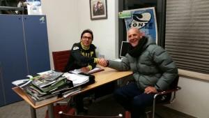 Alessio Sartori e Paolo Conte di Cicli Conte