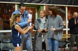 Giulia Sciscione con Augusto, Gabriella e Letizia Sciscione. Anxur time