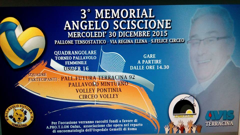 terzo Memorial Angelo Sciscione. Anxur time