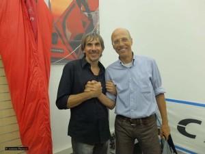 Da sx. Andrea di Bari e Bruno Vitale