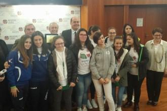 IC Milani Terracina premiata alla Regione Lazio per i Giochi Studenteschi. Anxur Time