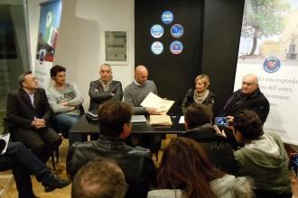 Nicola Procaccini presenta la Campagna elettorale differente. ANXUR TIME