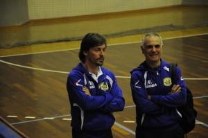 Mario Milazzo e Arcangelo Vaccarela, due maghi della pallavolo targata Futura Terracina. Anxur Time
