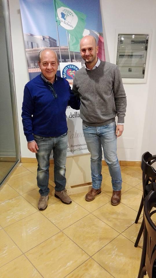 Giovanni Vogrig e Nicola Procaccini. Anxur time