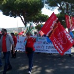 corteo dipendenti coop. anxur time