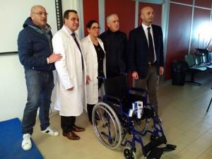 nicola procaccini, donazione ospedale fiorini. anxur time